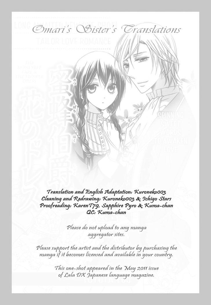Mitsubachi Hakushaku to Hana no Dress 1: Oneshot at MangaFox