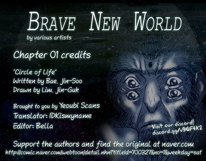 Brave New World (Naver) 1: Circle of Life at MangaFox