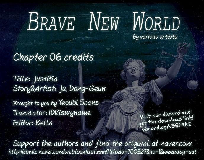Brave New World (Naver) 6: Justitia at MangaFox