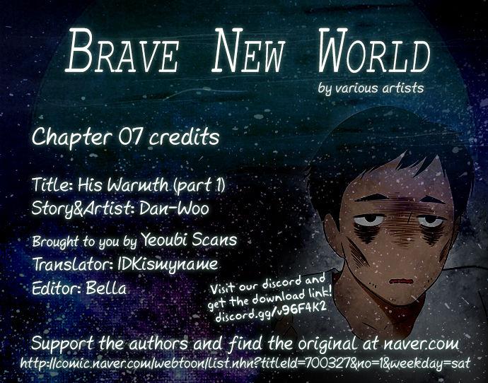 Brave New World (Naver) 7: His Warmth at MangaFox
