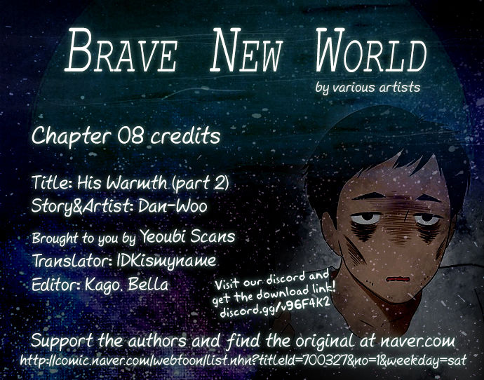 Brave New World (Naver) 8: His Warmth at MangaFox
