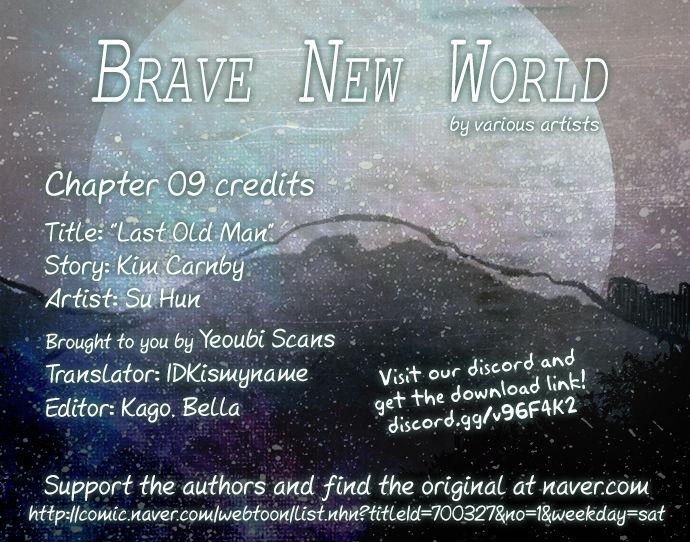 Brave New World (Naver) 9: Last Old Man at MangaFox