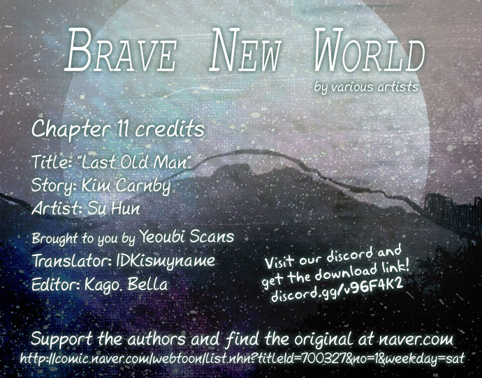 Brave New World (Naver) 11: Last Old Man at MangaFox