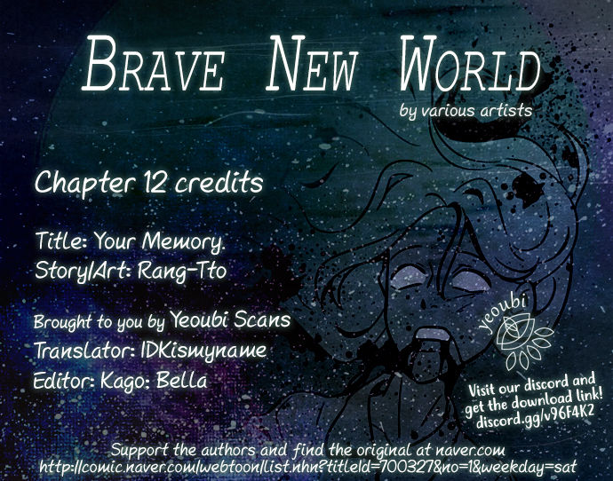 Brave New World (Naver) 12: Your Memory at MangaFox