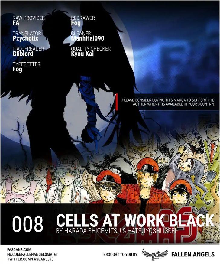 Hataraku Saibou BLACK 8: Despair, Gout, Mutiny at MangaFox