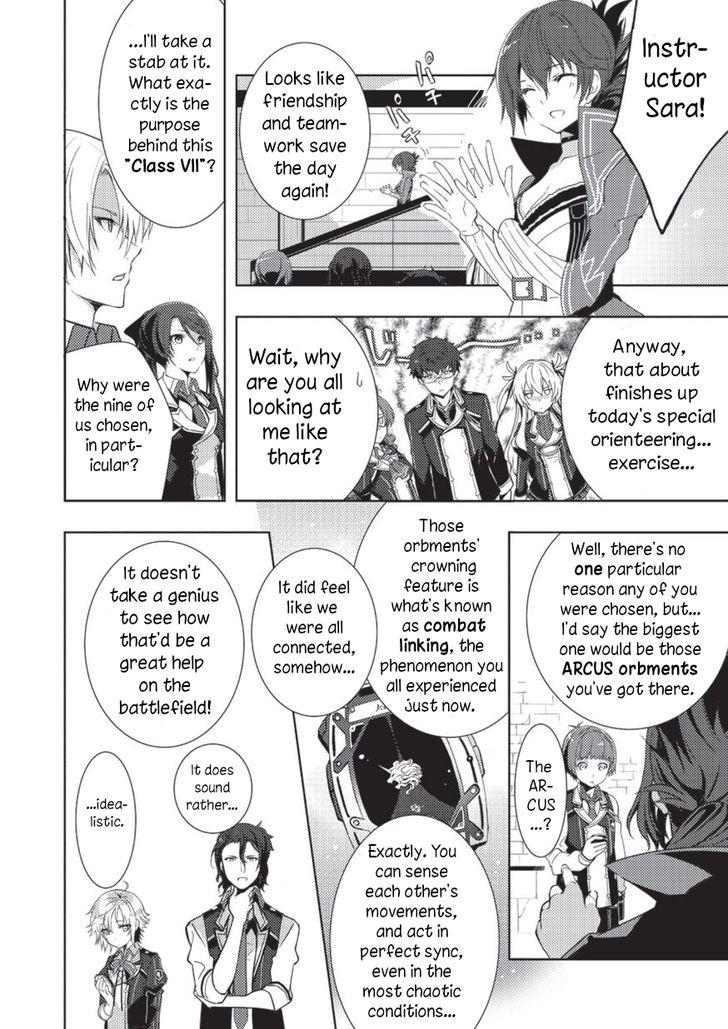 Eiyuu Densetsu - Sen no Kiseki 2 at MangaFox