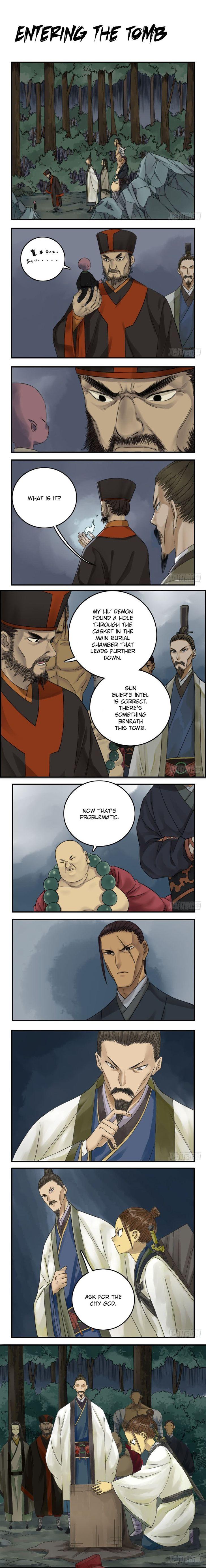 Martial Legacy 50: Entering the Tomb at MangaFox