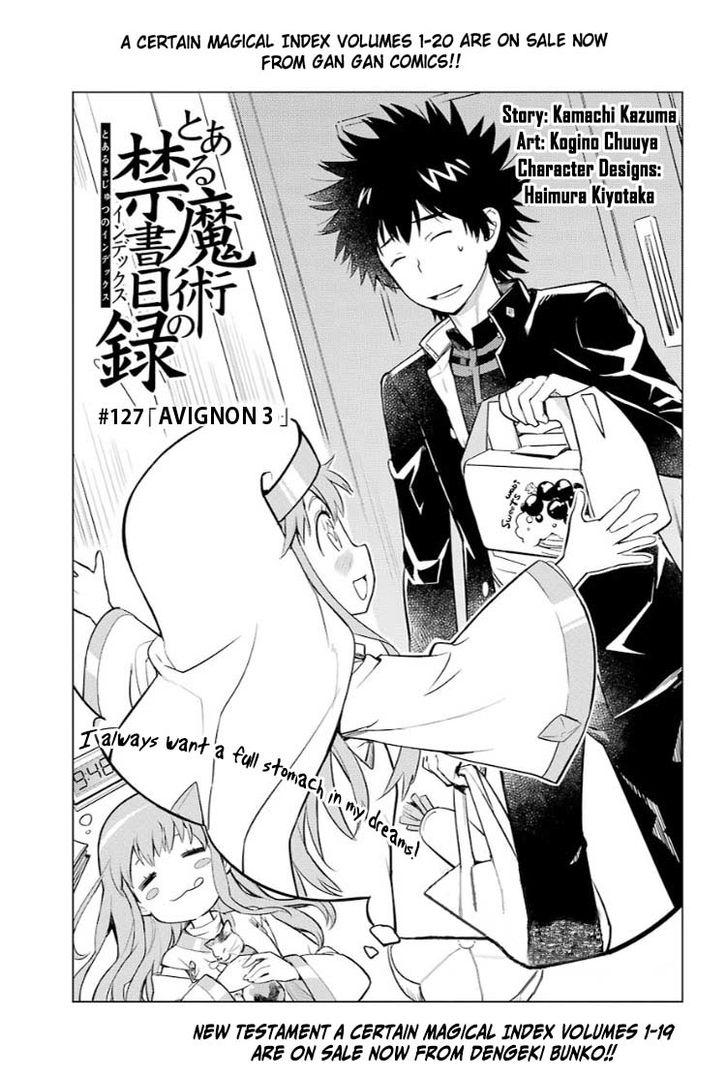To Aru Majutsu no Kinsho Mokuroku 127 at MangaFox