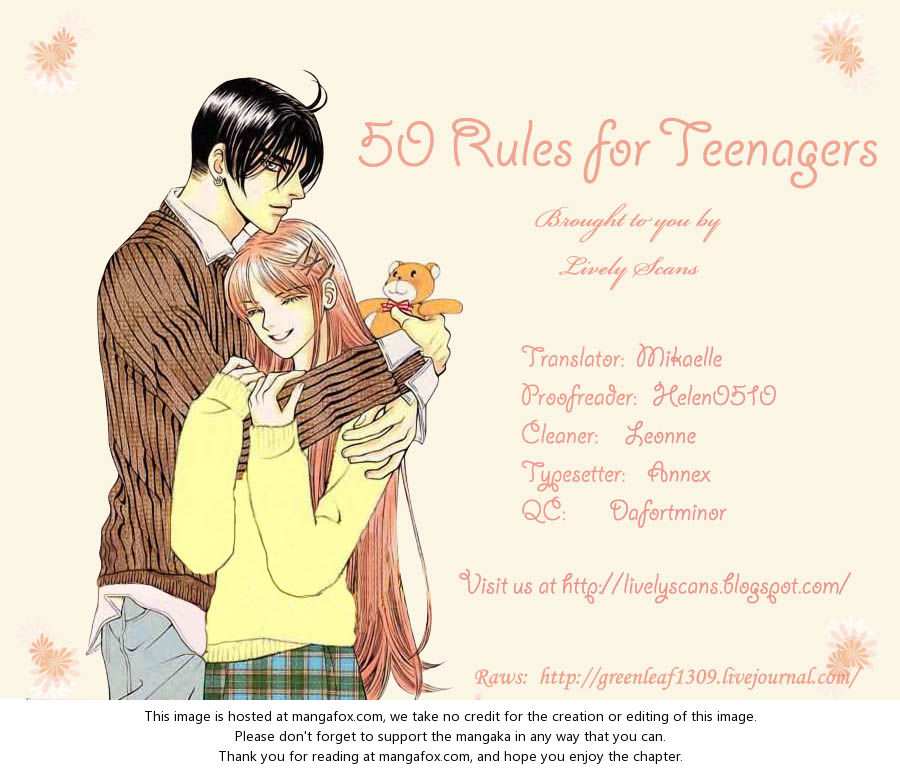 50 Rules for Teenagers 21 at MangaFox.la
