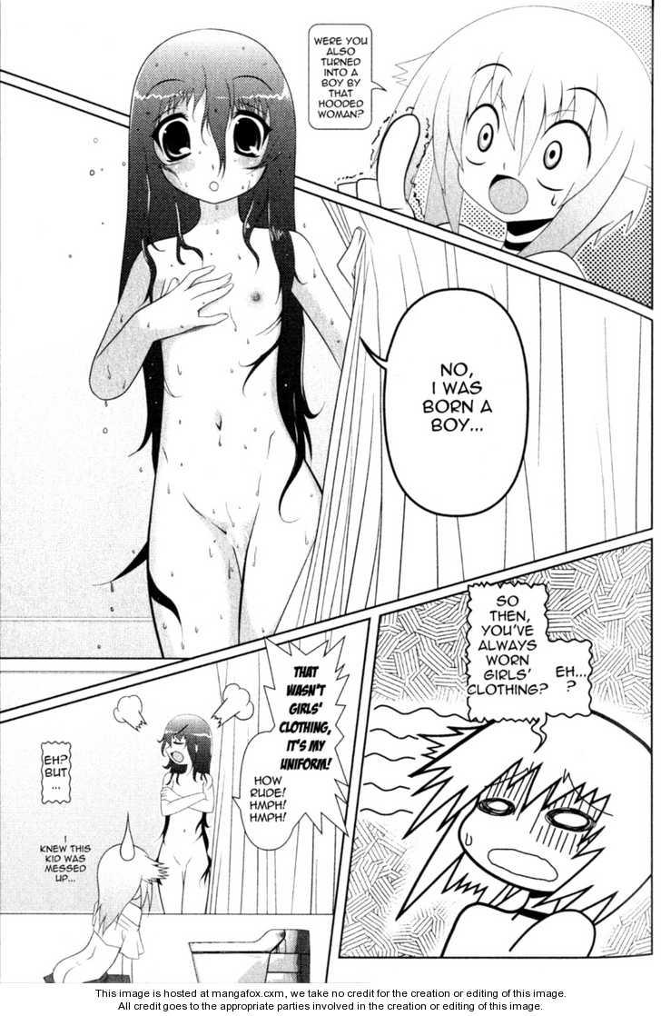 Asuka Hybrid 2: A Girlish Boy at MangaFox