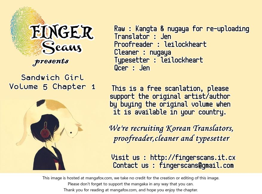 Sandwich Girl 19 at MangaFox.la
