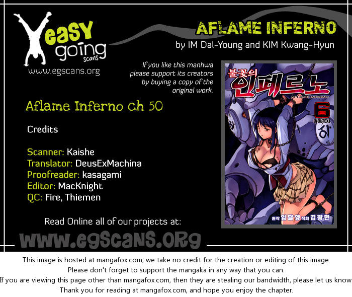 Aflame Inferno 50: Evolution at MangaFox