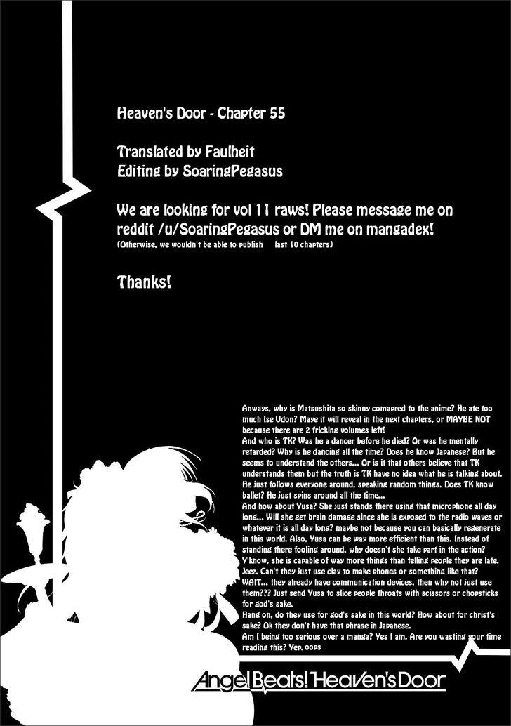 Angel Beats! - Heaven's Door 55 at MangaFox