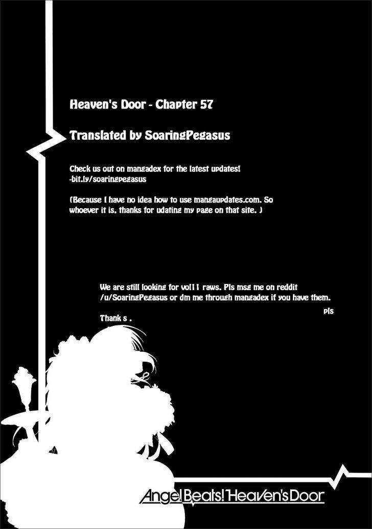 Angel Beats! - Heaven's Door 57 at MangaFox
