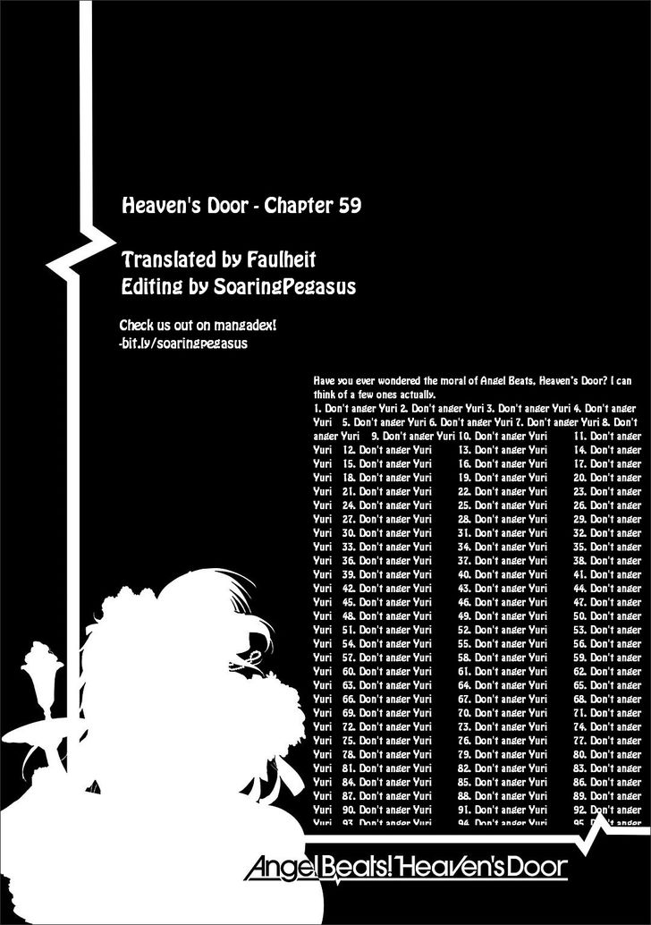 Angel Beats! - Heaven's Door 59 at MangaFox