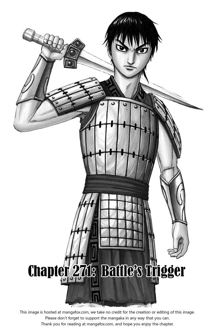 Kingdom 271: Battle's Trigger at MangaFox