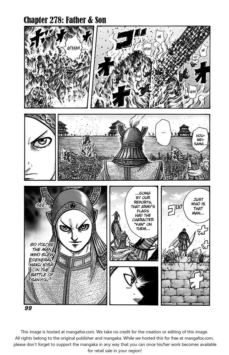 Kingdom 278: Father & Son at MangaFox