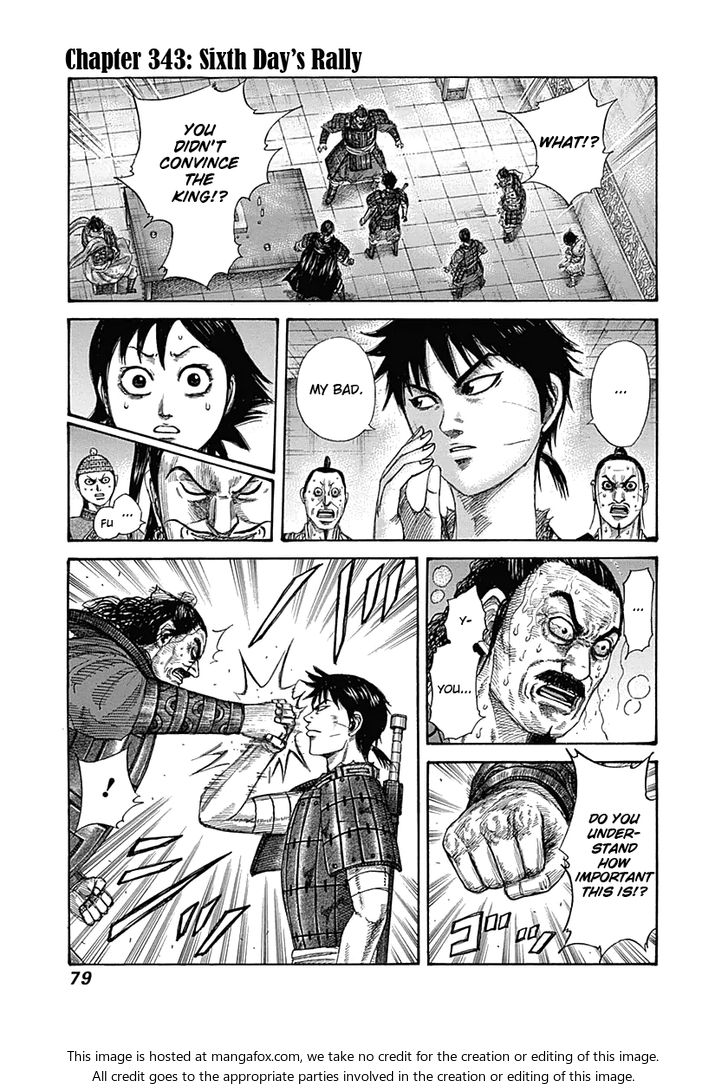 Kingdom 343: Sixth Day's Rally at MangaFox