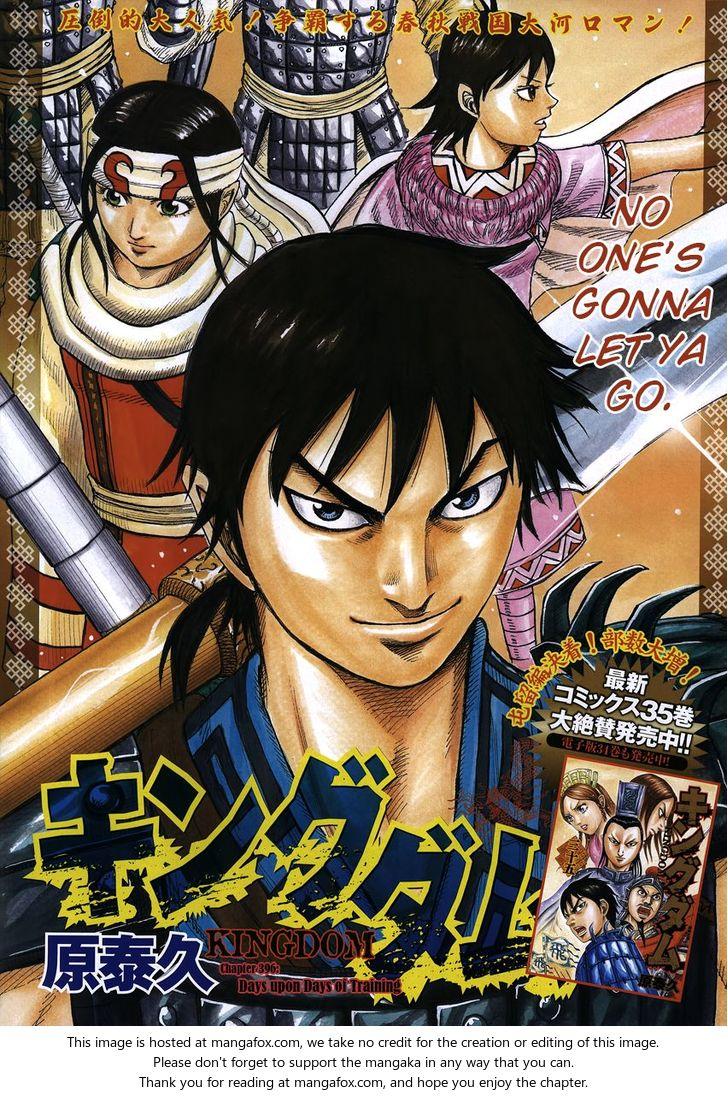 Kingdom 396: The Grueling Days of Training at MangaFox