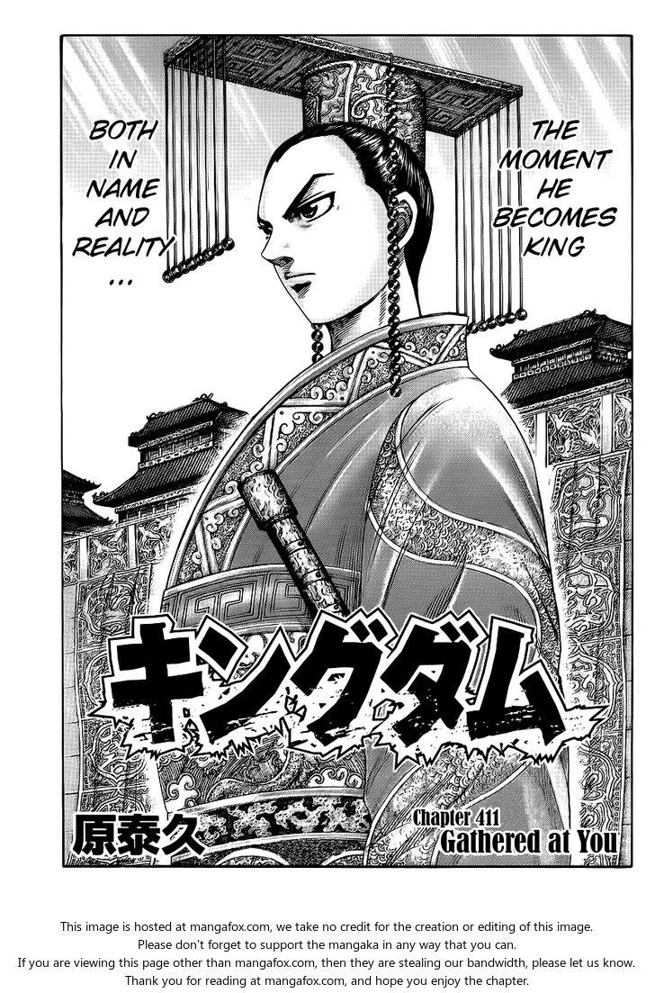 Kingdom 411: Gathered at You at MangaFox