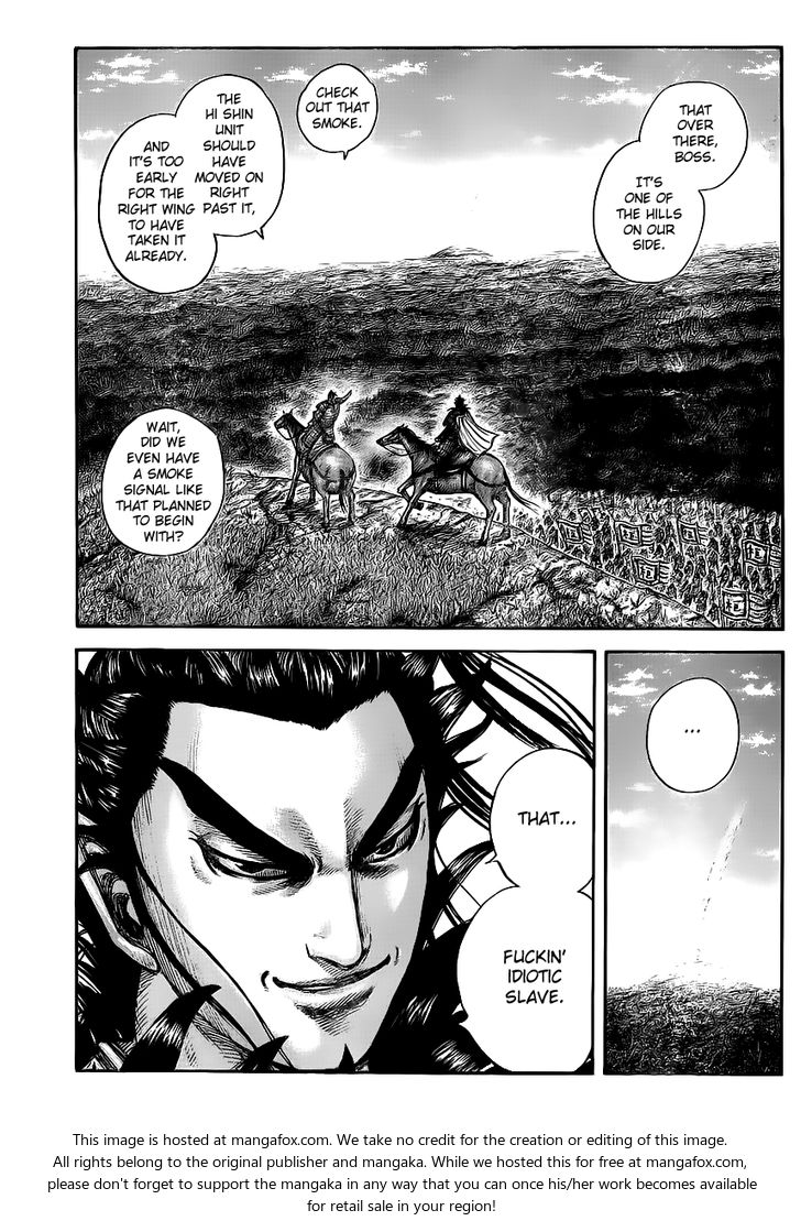 Kingdom 446: Unexpected Strategy at MangaFox