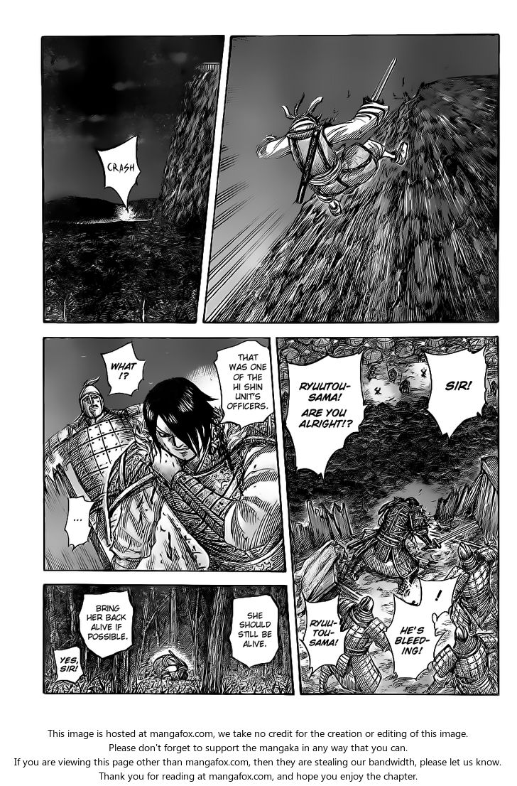 Kingdom 453: Where the Advance Ends(v2) at MangaFox