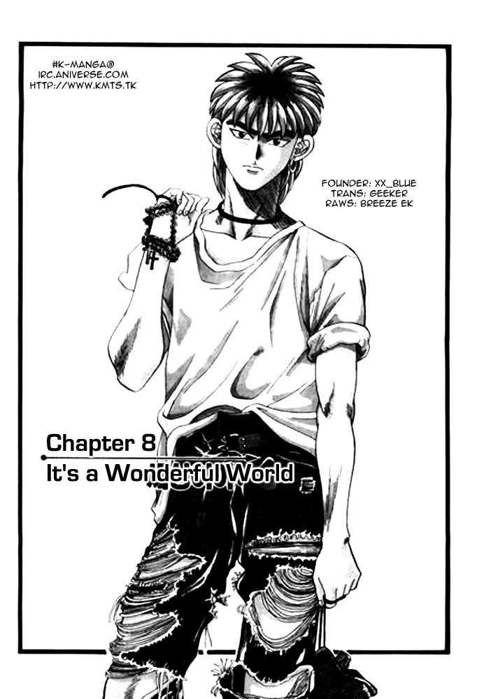 Change Guy 8: It's a Wonderful World at MangaFox.la