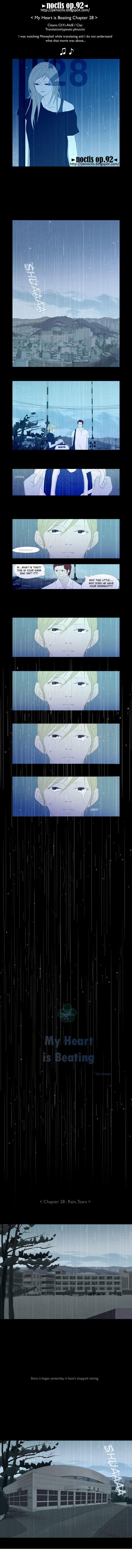 My Heart is Beating 28: Rain, Tears at MangaFox.la