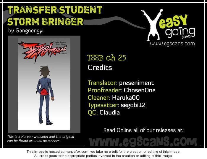 Transfer Student Storm Bringer 25 at MangaFox.la