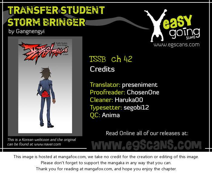 Transfer Student Storm Bringer 42 at MangaFox.la