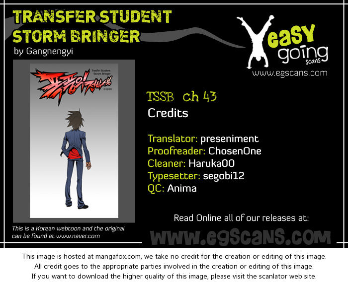 Transfer Student Storm Bringer 43 at MangaFox.la