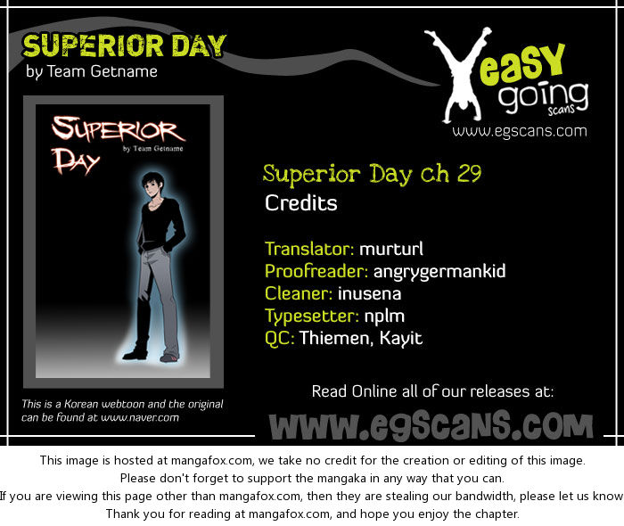 Superior Day 29: Confrontation (3) at MangaFox.la