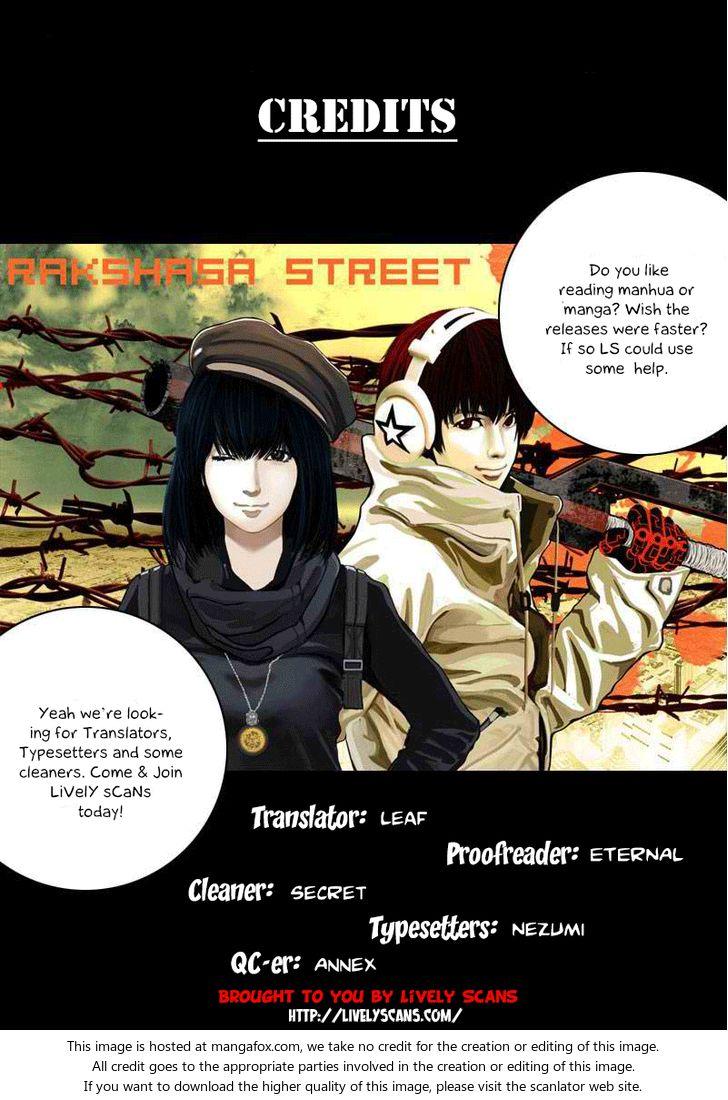 Rakshasa Street 6: Intruder at MangaFox.la