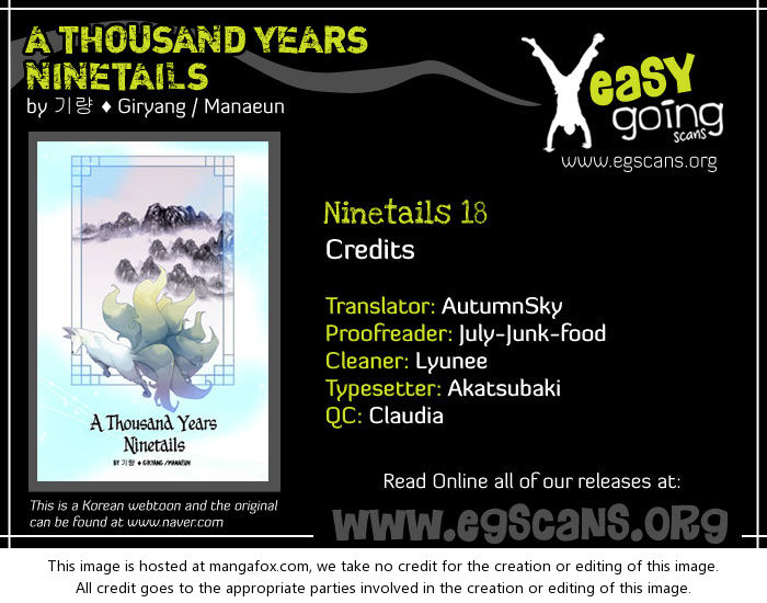 A Thousand Years Ninetails 18: Visitor (1) at MangaFox.la