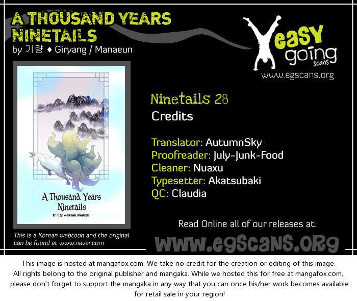 A Thousand Years Ninetails 28: Crisis at MangaFox.la