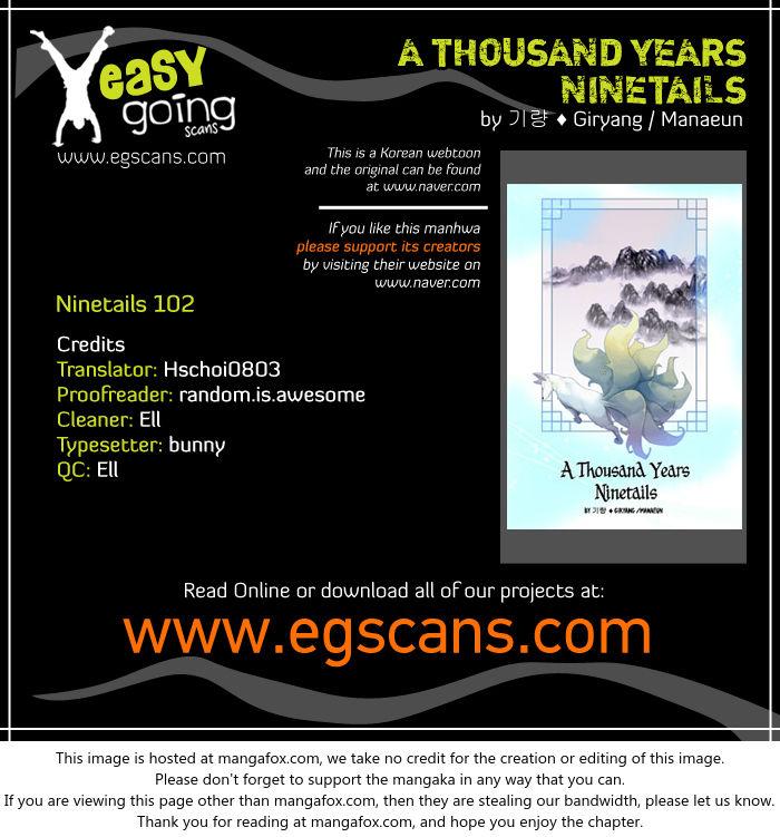 A Thousand Years Ninetails 102 at MangaFox