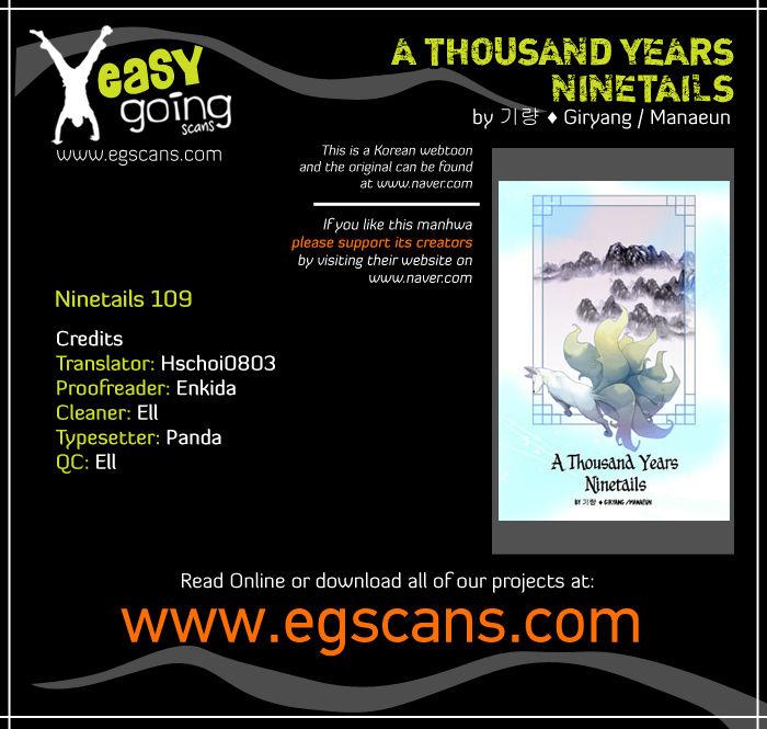 A Thousand Years Ninetails 109 at MangaFox