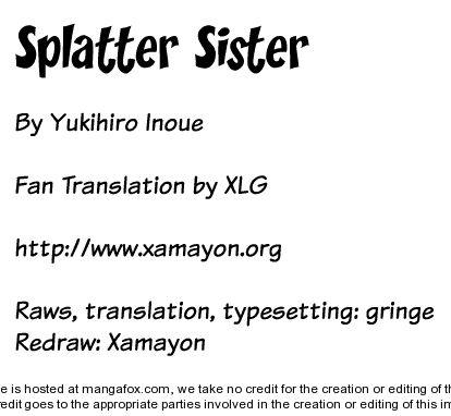 Splatter Sister 0 at MangaFox.la