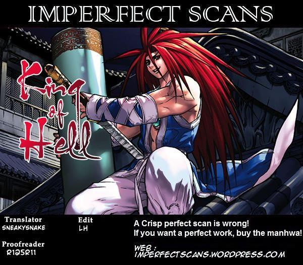 King of Hell 354 at MangaFox