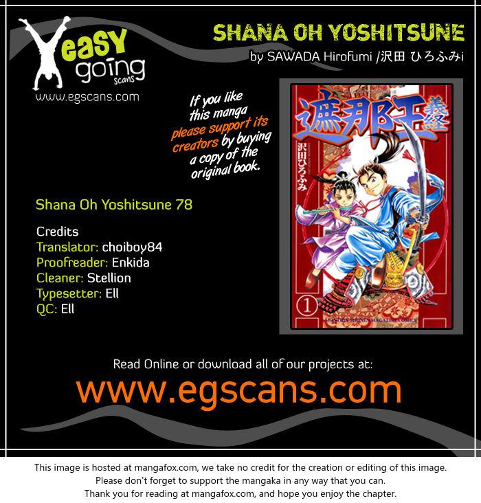 Shana oh Yoshitsune 78 at MangaFox