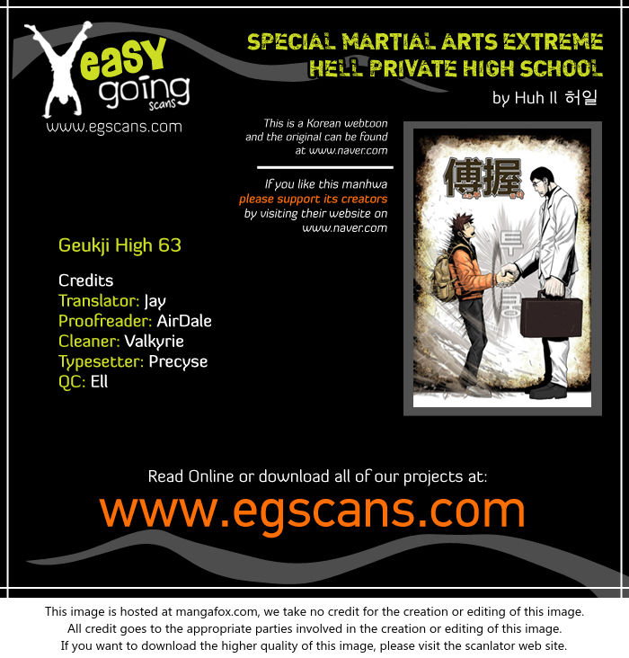 Special Martial Arts Extreme Hell Private High School 63 at MangaFox.la