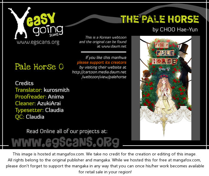 The Pale Horse 0: Preview at MangaFox.la