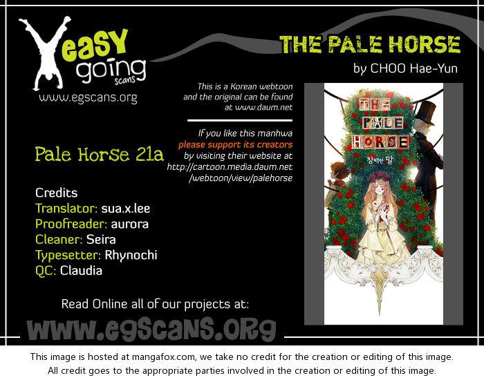 The Pale Horse 21.1: A Thorny Path (2a) at MangaFox.la