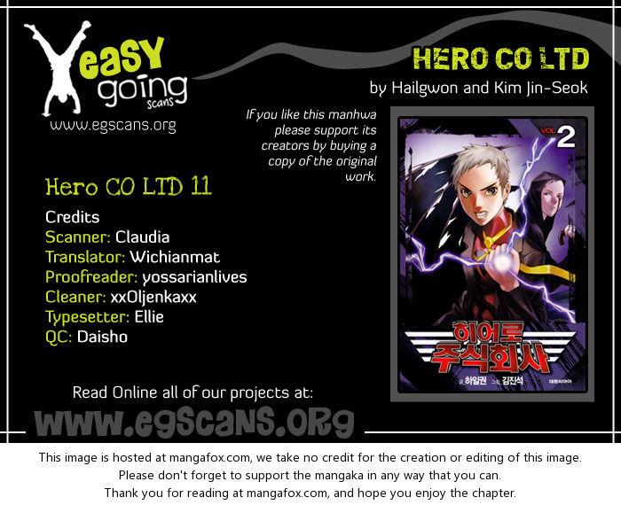 Hero Co., Ltd. 11: Drunken Hero at MangaFox.la