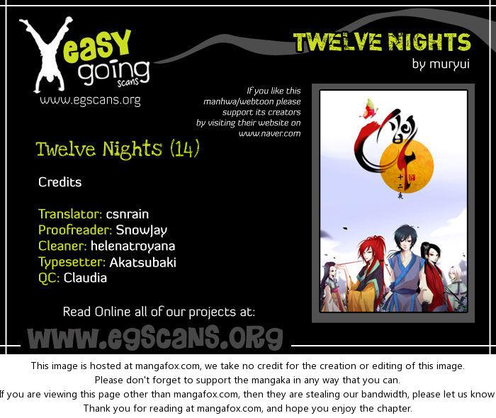 Twelve Nights 14: Shadow Village at MangaFox.la